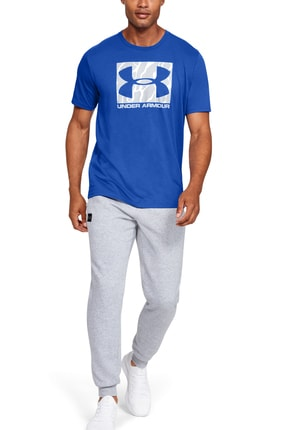 Under Armour Erkek Spor T-Shirt - UA Camo Boxed Logo Ss - 1351616-486 2