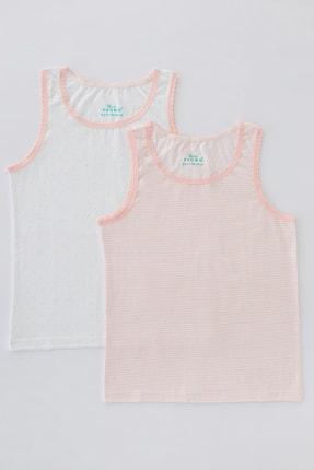 Penti Çok Renkli Kız Çocuk Flat Stripe 2Li Atlet 0