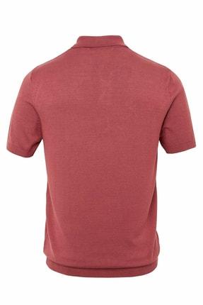 Defacto Erkek Bordo Polo Yaka Triko T-Shirt 1