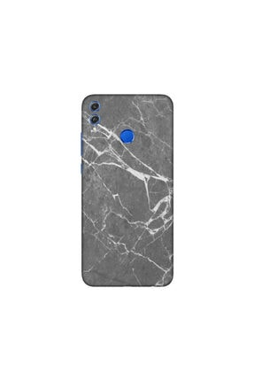 KAPAK OLSUN Huawei Honor 8x Füme Mermer Telefon Kaplaması 0