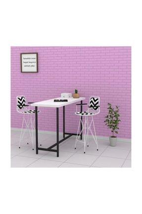 Kenzlife Kafes Tel Bar Sandalyesi 1 Li 2