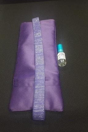 ABELGREEN Lavanta Göz Yastığı-yoga-aromaterapi- Mor Renk Pamuk Saten(lavanta Yağı Hediyeli) 3