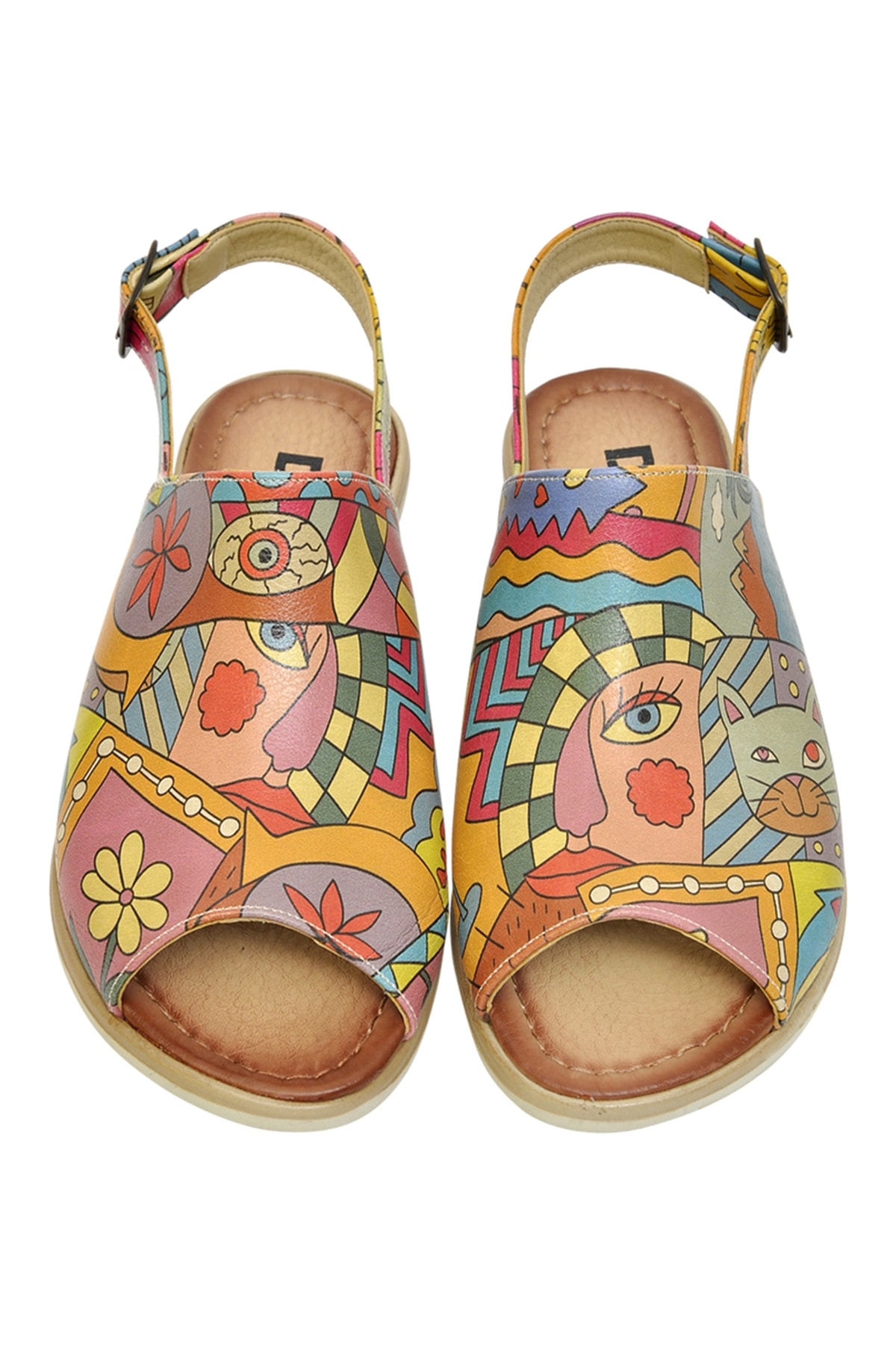 Dogo Artsy Kadın Düz Sandalet