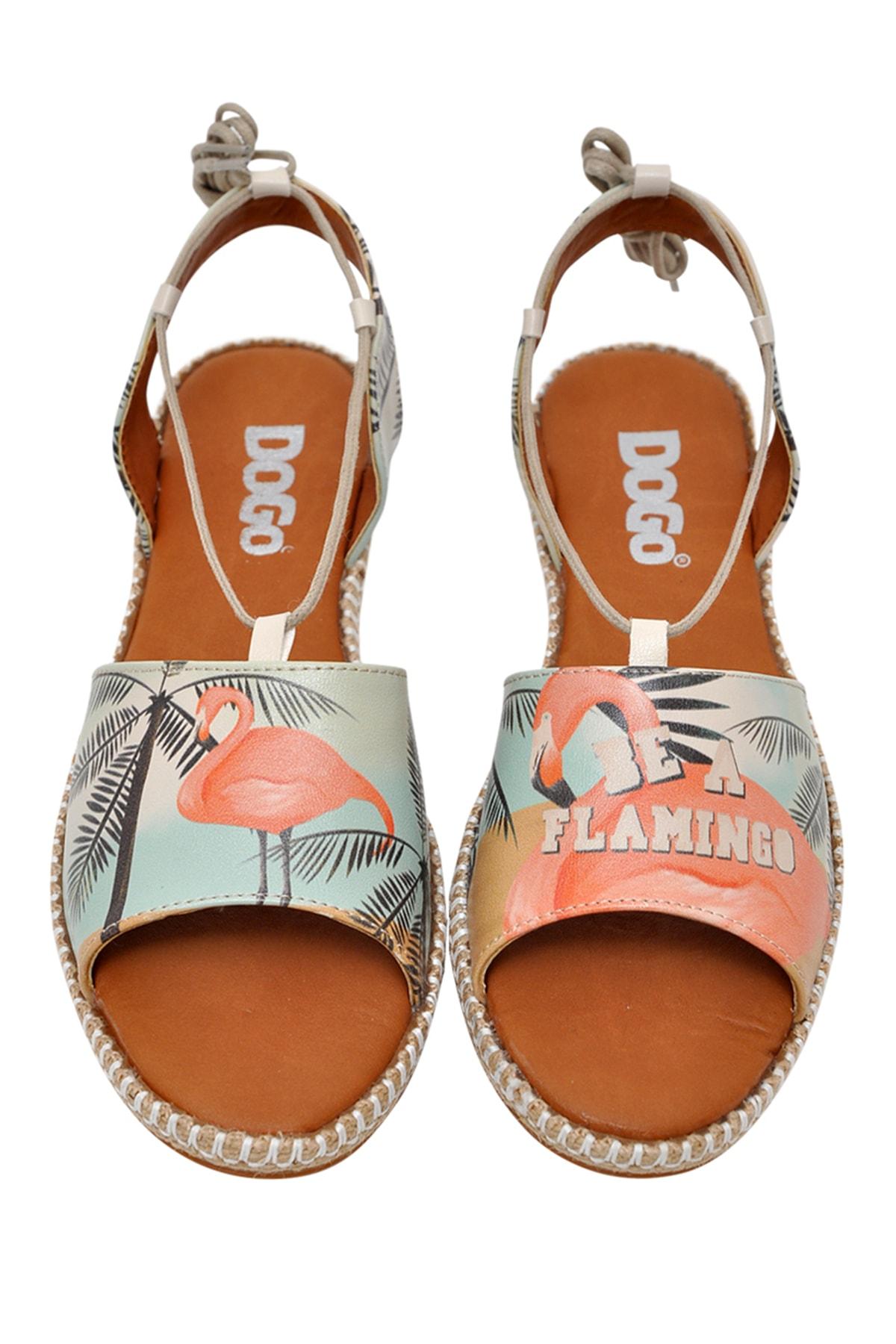 Dogo Be A Flamingo Kadın Bağcıklı Sandalet