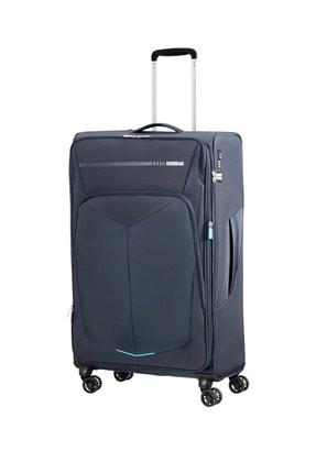 American Tourister Lacivert Unisex Summerfurk Spinner 4 Tekerlekli 79Cm 44674 0