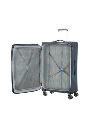 American Tourister Lacivert Unisex Summerfurk Spinner 4 Tekerlekli 79Cm 44674 1