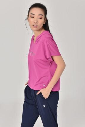 bilcee Pembe Kadın T-Shirt GS-8607 2