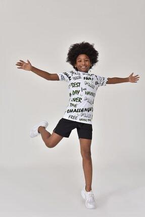 bilcee A.Yeşil Unisex Çocuk T-Shirt GS-8182 3