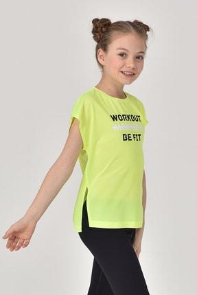 bilcee Yeşil Kız Çocuk T-Shirt GS-8159 0