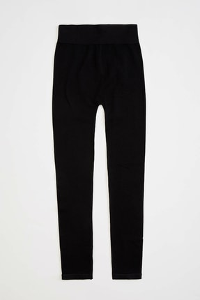 Defacto Kadın Siyah Slim Fit Sporcu Tayt R0143AZ.20SP.BK27 1