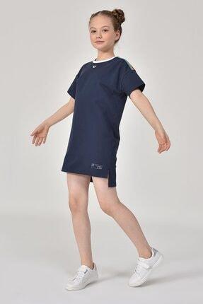 bilcee Lacivert Kız Çocuk Elbise GS-8152 4
