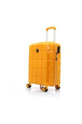 Hotowa Gold PP Valiz 8007 Kabin Boy HTW8007K