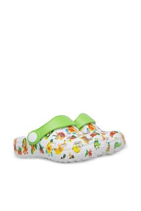 Akınalbella Çocuk Beyaz  Sandalet E009B026 2