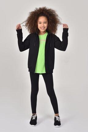bilcee Siyah Kız Çocuk Tayt GS-8196 1