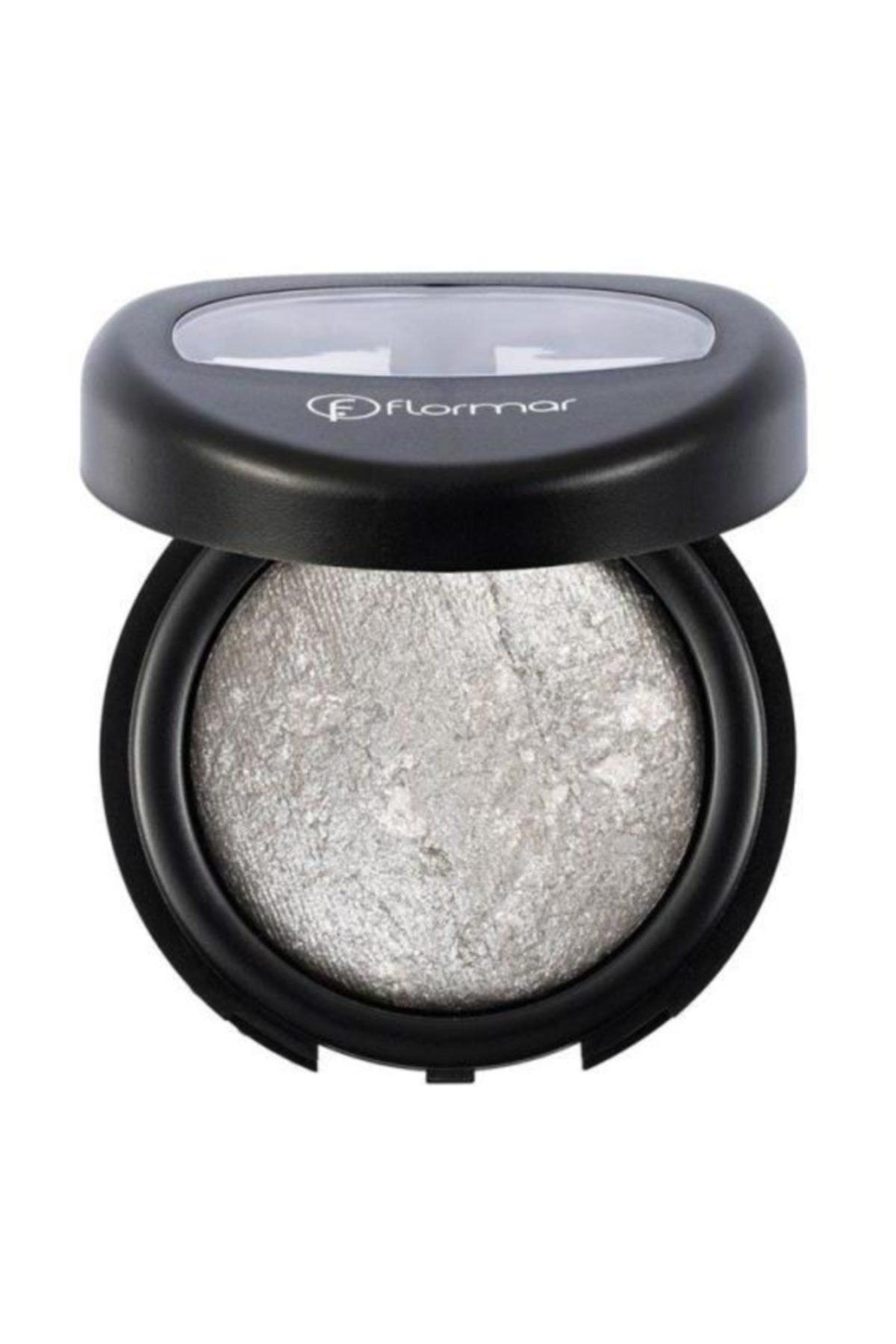 Diamonds Baked Eyeshadow Işıltılı Gri Göz Farı D10 8690604145799