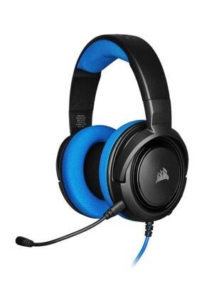 Corsair HS35 Mavi Stereo Oyuncu Kulaklığı 0