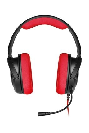 Corsair HS35 Kırmızı Stereo Oyuncu Kulaklığı 2
