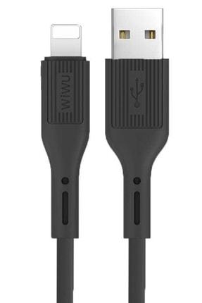 Elfia Iphone 6 Wiwu Şarj Aleti Usb Kablo Kopmaz Kırılmaz Hızlı Şarj 2.4a Amper 0