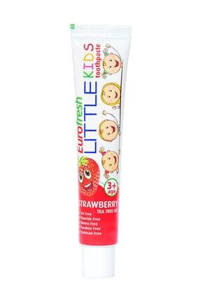 Farmasi Eurofresh 3 Yaş Üzeri Çocuklar için Çilek Aromalı Diş Macunu- Little Kids 50 g 8690131674311 0