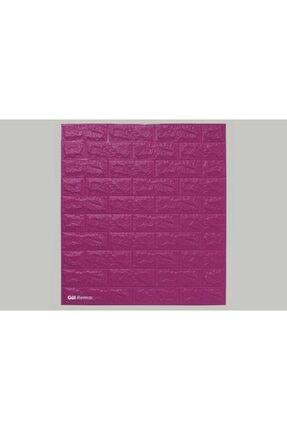 RENKLİ EVİM 17 Renk Seçenekli Yapışkanlı Tuğla Duvar Paneli 77*70 Cm 0,53m2 2