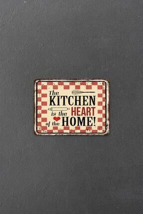 Decovetro My Kitchen Heart Görünümlü | Cam Kesme Tahtası - Kesim Tablası | 20 X 30 Cm 1