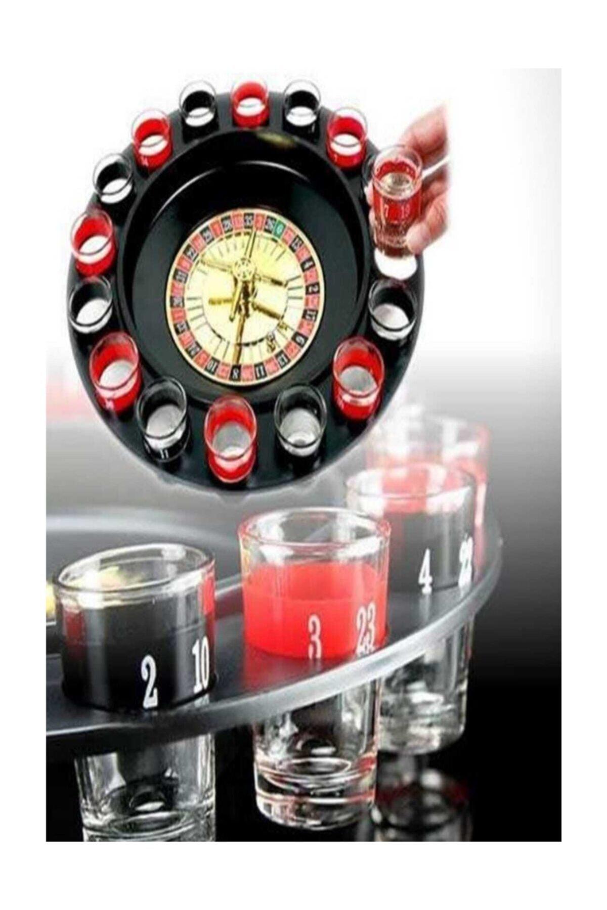 Rus Ruleti Drinking Roulette 12 Shot Bardaklı Içki Oyun Seti