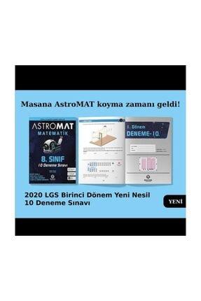 İrrasyonel Yayıncılık Astromat Yayınları 8.sınıf 1.dönem Matematik 10'lu Denemesi 1