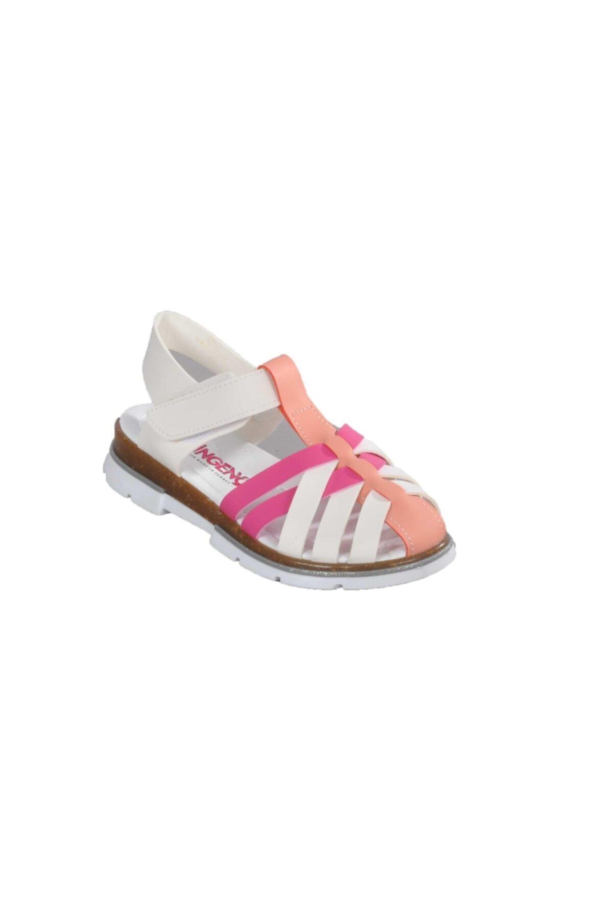 003 Beyaz-pembe Çocuk Günlük Ayakkabı