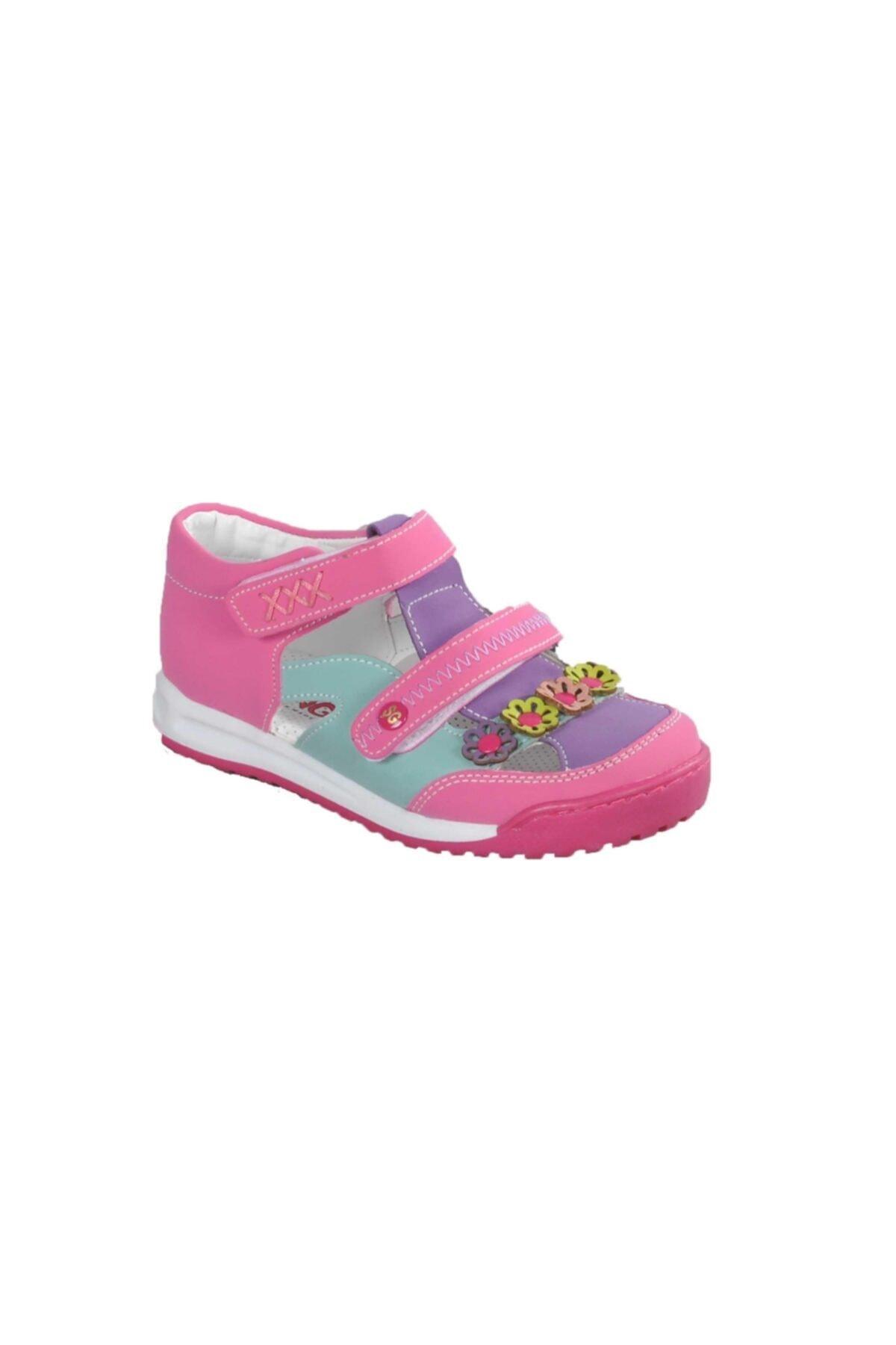 011 Pembe-mor Çocuk Günlük Ayakkabı