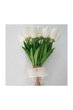 Evsay Gelin Çiçeği Gelin Buketi Lale Buketi Ve Damat Yaka Çiçeği 3