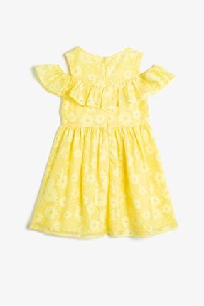 Koton Sarı Kız Çocuk Elbise 1