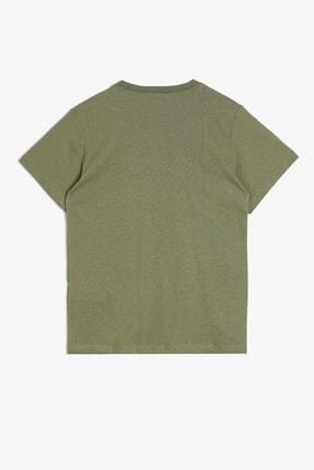 Koton Haki Erkek Çocuk T-Shirt 1