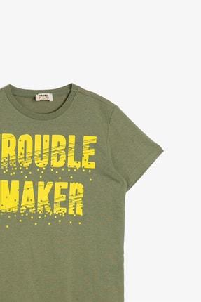 Koton Haki Erkek Çocuk T-Shirt 2