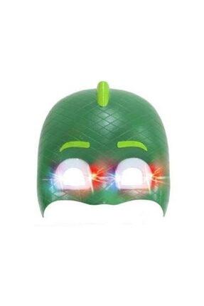 Partini Seç 1 Adet Pijamaskeliler Kertenkele Gekko İçin Işıklı Maske 0