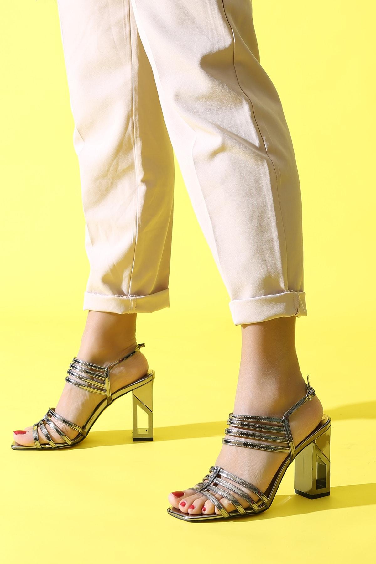 ALTINAYAK Platin Kadın Abiye Ayakkabı 339.002001 0