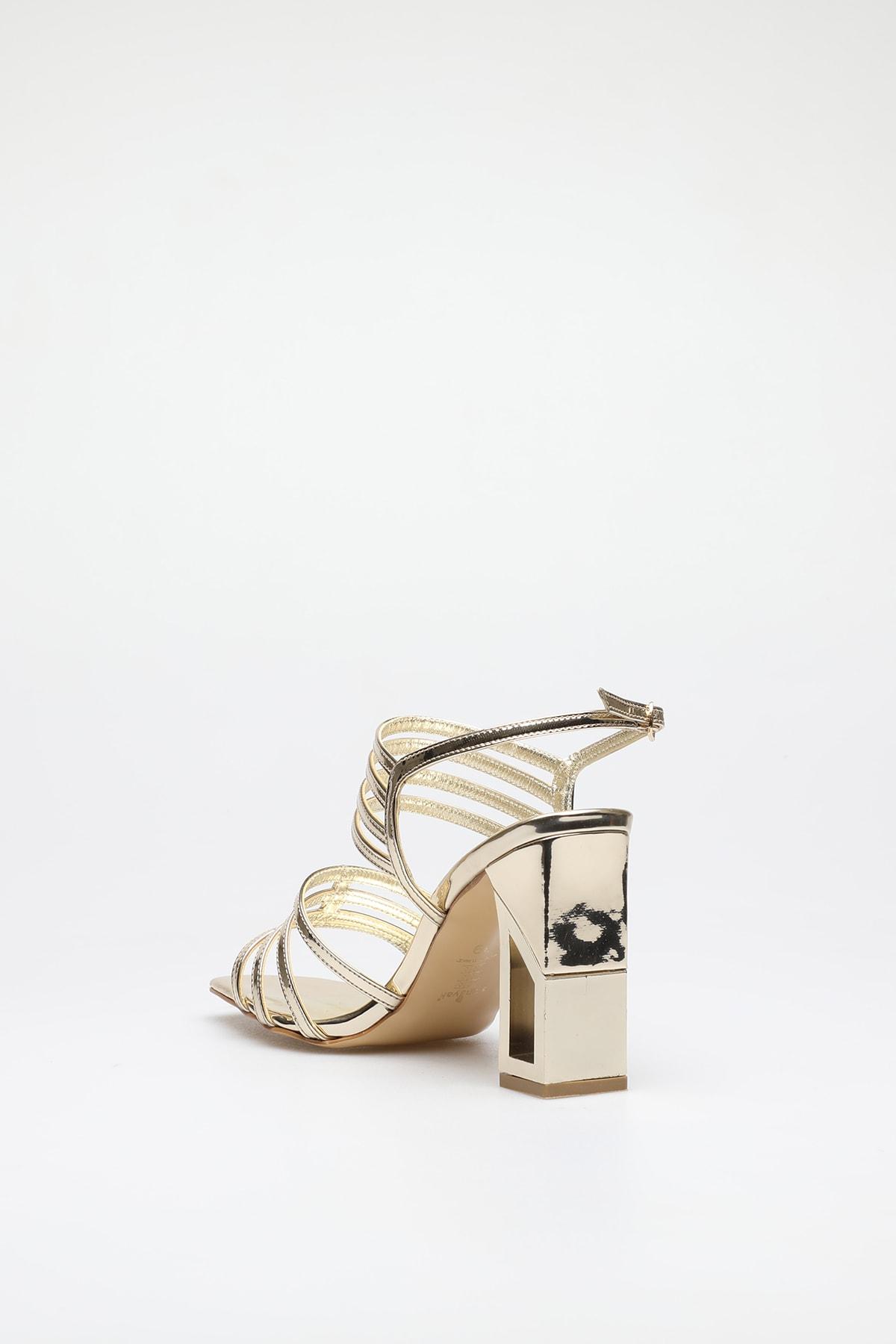 ALTINAYAK Altın Kadın Abiye Ayakkabı 339.002001 3