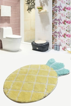 Chilai Home Pıneapple 60X100 Cm Banyo Halısı 0