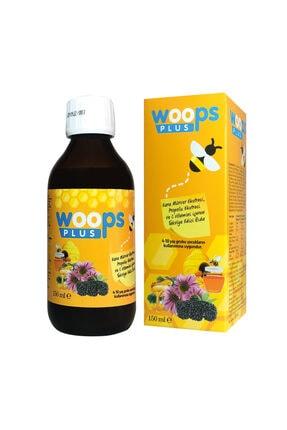 Woops Plus Saf Propolis, Kara Mürver (sambucus Nigra) Ekstresi, C Vitamini, Beta Glukan, Üzüm Tohumu 0