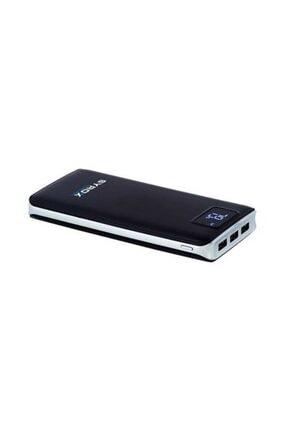 Syrox Powerbank Taşınabilir Batarya Ekranlı 20000mAh PB107 Siyah/Beyaz 0