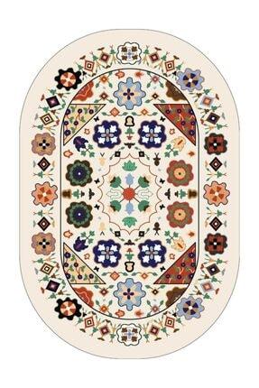 Babil Home Özel Üretim Babilhome Banyo Halısı Klozet Takımı Paspas Seti Bs082 2'li Set (50x80cm + 50x50cm) 1