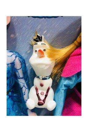 DİSNEY Karlar Ülkesi Elsa Anna Ve Olaf Şarkı Söyleyen Oyuncak Bebek 27.5 Cm 4