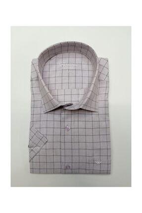 ASWEL Kısa Kollu Klasik Gömlek 0