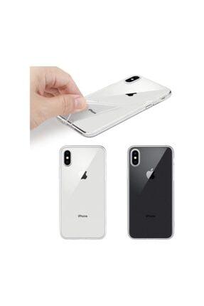 Dijimedia Apple Iphone X/xs Kılıf Ultra Ince Silikon Arka Kapak Imax Şeffaf 1