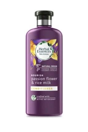 Herbal Essences Şampuan Çarkıfelek Çiçeği Ve Pirinç Sütü 400 ml+ Saç Bakım Kremi  360 ml 2