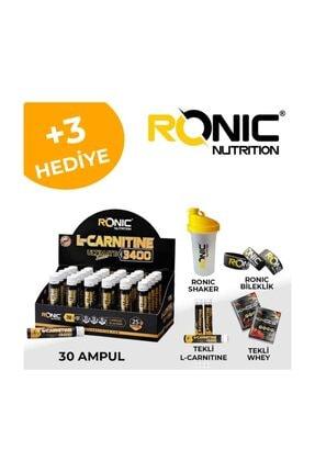 RONIC Nutrition L-Carnitine Ultimate Series 3400 Mg 30 Ampul Yağ Yakıcı +3 Adet Hediyeli 1