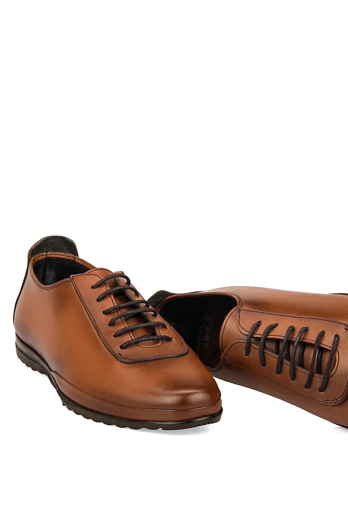 Ziya Hakiki Deri Taba Erkek Ayakkabı 101415 485046 1