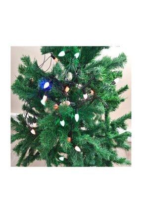 HIS Yılbaşı Ağaç Süsü Damla Şekilli Renkli Led 4 m 1