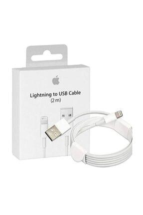 Gate Iphone 5-6-7-8-X Max Uyumlu Lightning Usb Şarj Kablosu 2 Metre 0