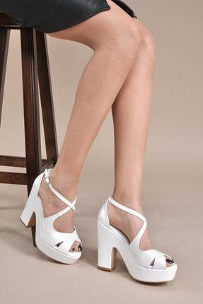 Vizon Ayakkabı Kadın  Sedef Klasik Topuklu Ayakkabı VZN20-045Y 0