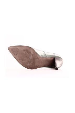 Dgn Yeşil Kadın Klasik Topuklu Ayakkabı 199-148 2